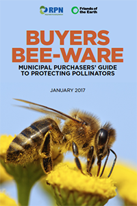 bee-friendly purchasing report cover