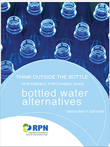 bottled water guide universities