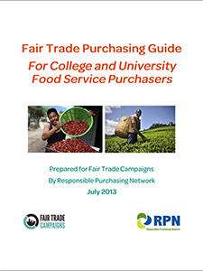 fair trade colleges guide