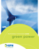 Green power guide cover